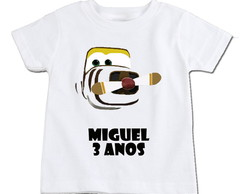 Camiseta Infantil Super Wings Bello