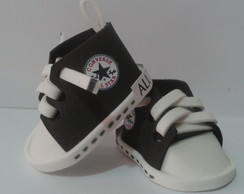 Mini Tênis All Star Preto/Branco
