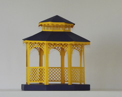 Gazebo confeccionada no papel colorplus
