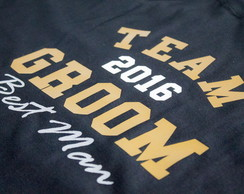 Camiseta Noivo Team Groom