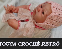 TOUCA CROCHÊ RETRÔ