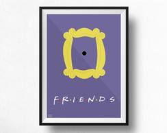 POSTER FRIENDS - IMPRESSO