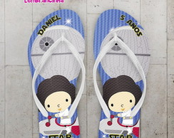 Chinelo Star Wars Personalizado