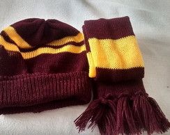 Conjunto Fantasia Harry Potter 3 a 6 m