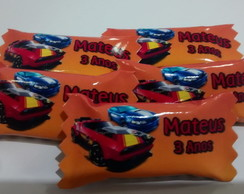 Balinhas Personalizadas do Hot wheels