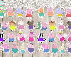 Aplique Personagens Peppa Pig