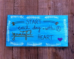 Quadro Grateful Heart