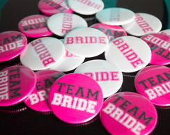Bottons Team Bride Personalizados