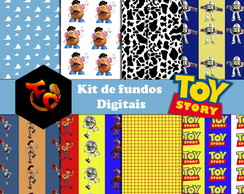 Kit de fundos Digitais - Toy Story