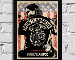 Poster com moldura Sons.Of.Anarchy 5