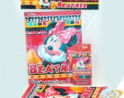 Kit de colorir Minnie Mouse