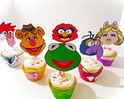 Wrappers para Cup Cake Muppets