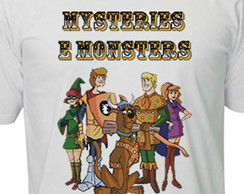 Camiseta Caverna Do Dragão - Scooby Doo