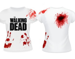 Camiseta Baby Look The Walking Dead