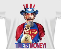 Camiseta Time Is Money madruga chaves