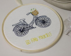 "Quadro ""Go find yourself"" 