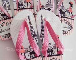Chinelo Personalizado Paris