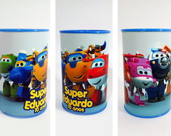 Super Wings Cofrinho Personalizado