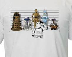 Camiseta Star Wars r2-d2 c-3po