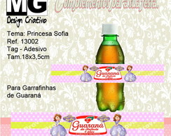 Ref.13002-Tag p/Guaraná Princesa Sofia