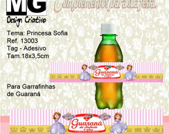 Ref.13003-Tag p/Guaraná Princesa Sofia