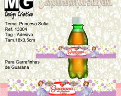 Ref.13004-Tag p/Guaraná Princesa Sofia