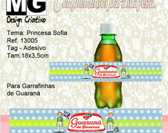 Ref.13005-Tag p/Guaraná Princesa Sofia