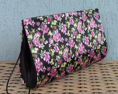 Clutch Floral Rosa