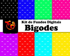 Kit de fundos Digitais - Bigodes