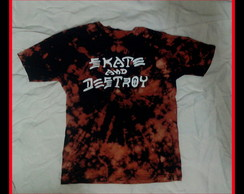 Tie Dye skate and destroy