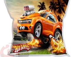 Almofada Hot wheels Personalizada 20x20