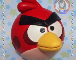 Cofre em Biscuit - Angry Birds