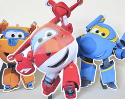 Displays de mesa Super Wings