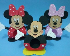 PORTA BOMBOM EVA MICKEY MINNIE