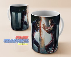Caneca CIVIL WARS 3