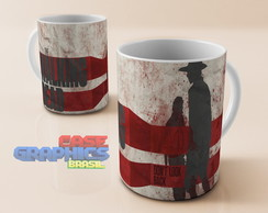 Caneca louça THE WALKING DEAD