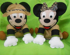 Mickey Minnie Disney Safari