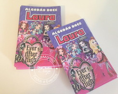 Rotulo Algodão Doce Ever After High
