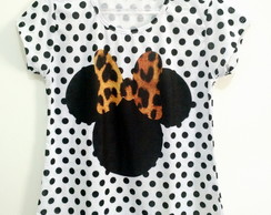 Tshirt Black Minnie