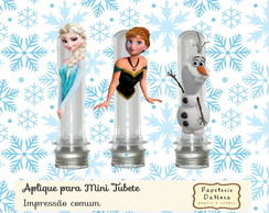 Aplique Frozen (mini tubete)