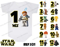 Mesversario Star Wars Lego Kit 12 Body
