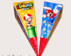 Cone Triangular Mario Bros
