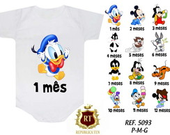 Mesversario Baby Disney Kit 12 Body