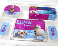 10 Kit Maleta Festa na Escola - Frozen!