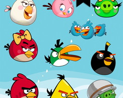 Kit Digital PNG - Angry Birds