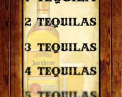 Placa Decorativa - Tequila