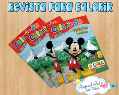 Revista de colorir mickey 2