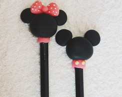 Lápis Decorado: Mickey e Minnie