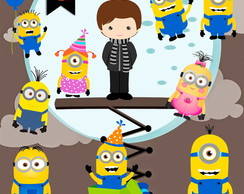 Kit Digital PNG - Minions