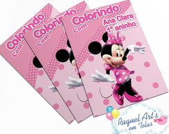 Revista de colorir Minnie Rosa 2